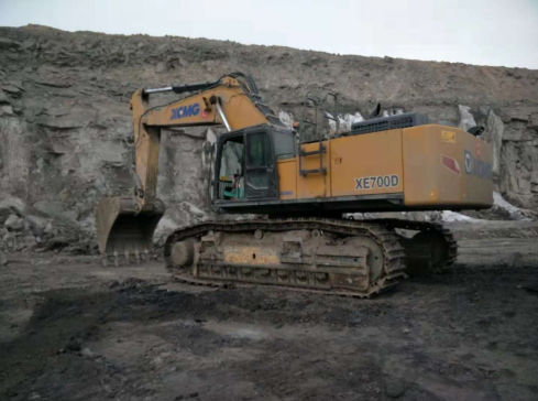 XCMG Case Of Excavator Failure