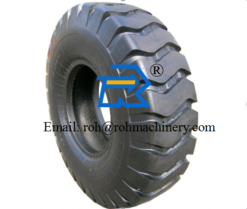 XCMG Wheel Loader Spare Parts Semi-Solid Tire 23.5-25 Thick Tire 17.5-25 Pneumatic Tire